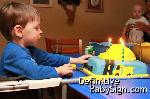 DefinitiveBabySignCom - Cake Time